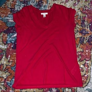 Red comfy T-shirt